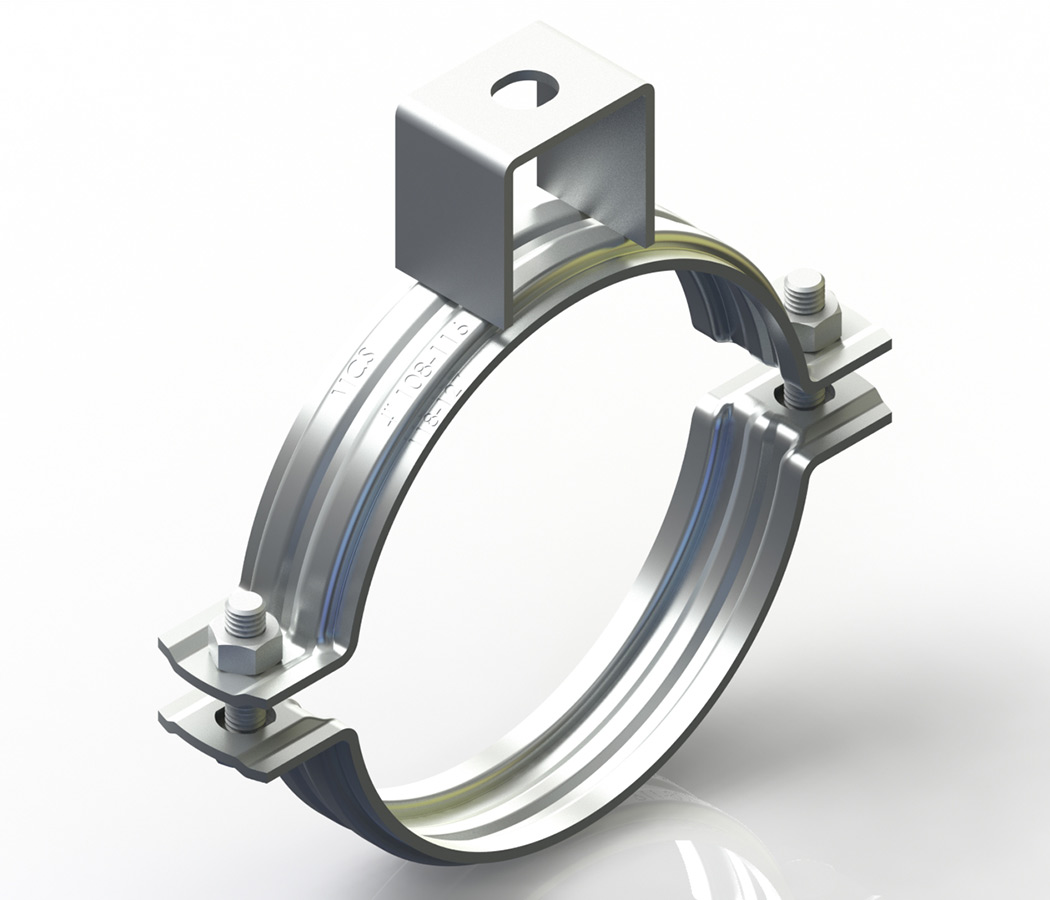 Stainless Clamp With Nut (Without Rubber)
